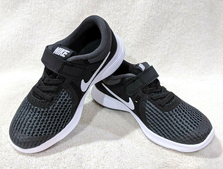 Nike Revolution 4 (PSV) Black/White/A