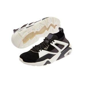 0de4cbc2f79 BTS X Puma Bog Sock Shoes Baskets Official Black White Bangtan Boys ...