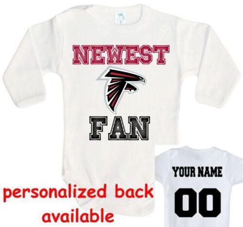 Baby bodysuit Newest fan Atlanta Falcons football One Piece jersey