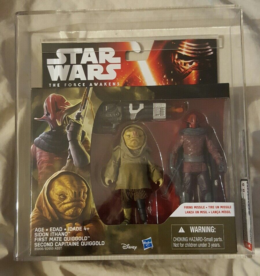 Star Wars Sidon Ithano and first mate Quigoro from tfa graded 8.5