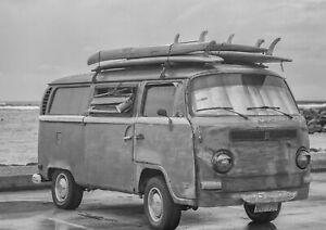 A1-Surf-Van-Poster-Art-Print-Size-60-x-90cm-Vintage-Vehicle-Decor-Gift-14166