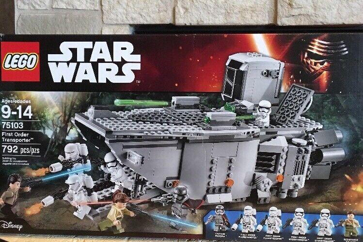 LEGO Star Star Star Wars First Order Transporter (75103) - New & Sealed. 424271