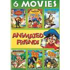 Animated Friends 6 Movie Collection (2 Disc) DVD