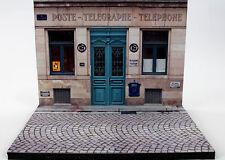 diorama présentoir Bureau de Poste - French Post Office - 1/43ème - #MR43A064.fr