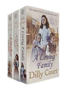 Dilly-Court-3-Books-Romance-Saga-Mother-039-s-Secret-Mothers-Trust-Loving-Family-New