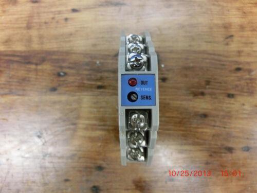 Keyence Proximity SensorAmplifier Controller Module ES-12AC-U es12acu