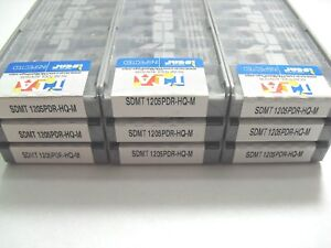 SDMT 1205PDR HQ M IC928 ISCAR *** 10 INSERTS *** FACTORY PACK ***