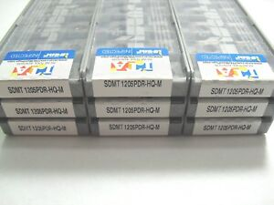 ISCAR     SDMT 1205PDR-HQ-M      IC 928    20pcs LOT OF