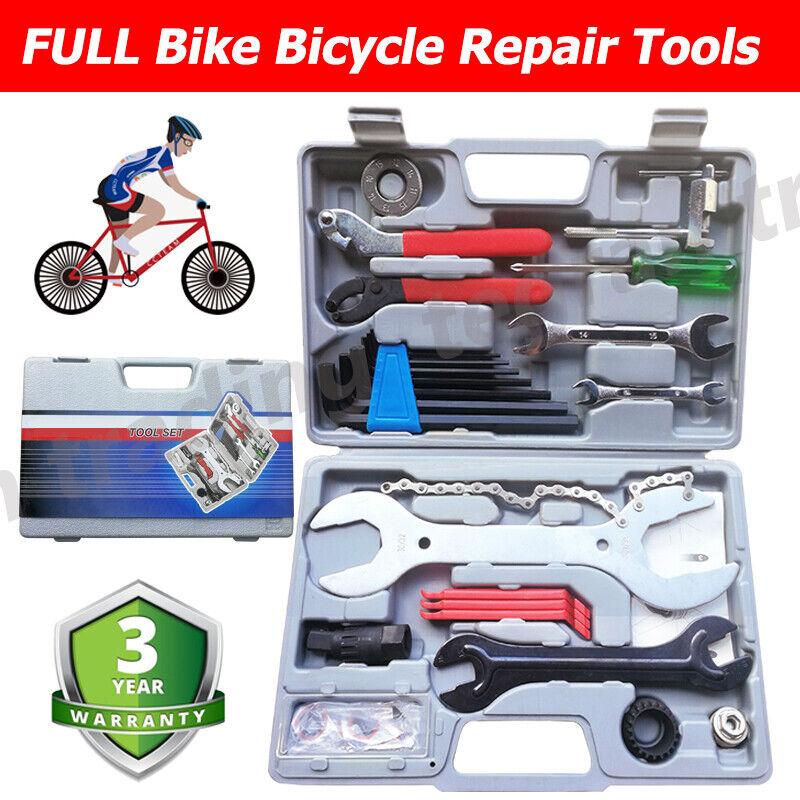 Práctico Para Bicicleta Completa Herramientas  de Reparación Kit de Herramientas Set mecánico aficionado ciclismo  El ultimo 2018