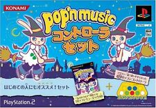 Used PS2 Pop'n Music 10 Limited Edition w/ controller Japan Import