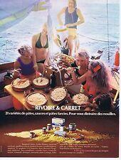 Publicité Advertising 016 1972 Rivoire & Carret pâtes