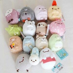 Sumikkogurashi-Plush-Bag-Charm-Japan-Sushi-Stuffed-Sumikko-gurashi-3-15-039-039-Toy