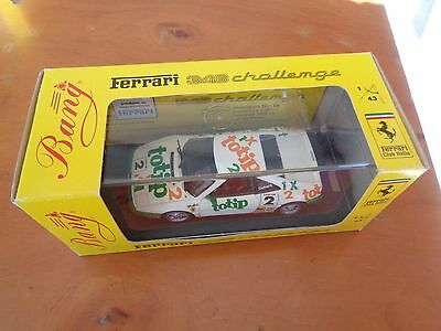 Amabile Bang Ferrari 348 Challenge 94 Cutrera Totip High Quality Model Scala 1:43 Bianco Puro E Traslucido