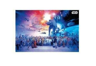 STAR WARS CLASSIC UNIVERSE ROLLED POSTER PRINT DECORATIVE WALL HANGING SLOT #15