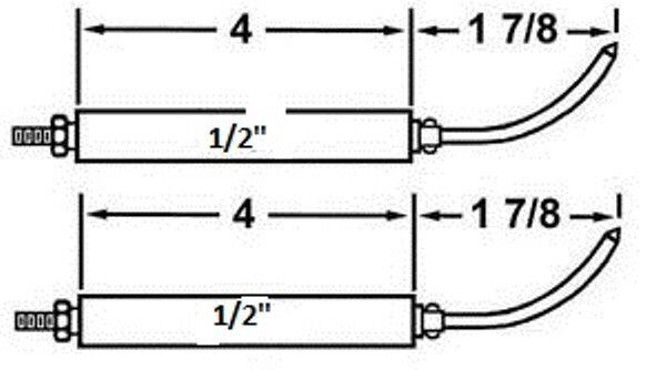 Wayne Oil Burner Electrode Set Replaces 13286 for EH EHA EHASR HSR on