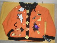 Lydia Jane Girl's Size 4 Small Halloween Sweater