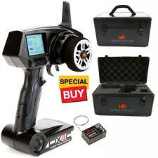 Spektrum DX4C 4ch DSMR Racing Radio / Transmitter / SR410 Receiver w/ Alum Case