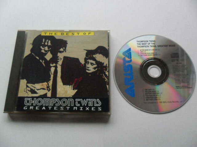 THOMPSON TWINS - Greatest Mixes (CD 1990) GERMANY Pressing