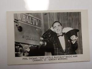 Phil-Thomas-Yogi-Magic-Mart-THE-LITTLE-RASCALS-MAGIC-MAN-Channel-11-Sunday-1940s