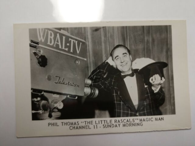 Phil Thomas Yogi Magic Mart THE LITTLE RASCALS MAGIC MAN Channel 11 Sunday 1940s