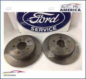 BD125481 Rear Brake Rotors Set Pairs Kit Fits 1996-2002 Ford Crown Victoria