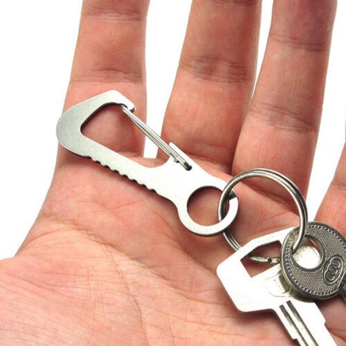 Premium Sturdy Keyring Buckle Quick Release Hooks Key Rings Clip Hook