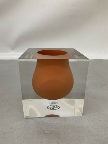 Jonathan Adler Bel Air Mini Scoop Vase Orange 21213