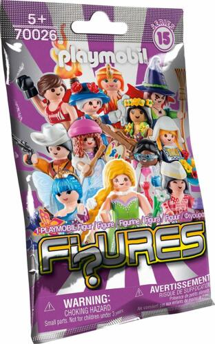 BNIP PLAYMOBIL 70026 FIGURES Girls Series 15 SEALED PACKET Collectable RARE!