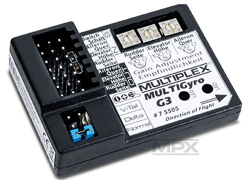 Multiplex Multi Gyro G 3     MultiGyro G3 - 3-Achs Flächen-Kreisel - NEU 938c0c