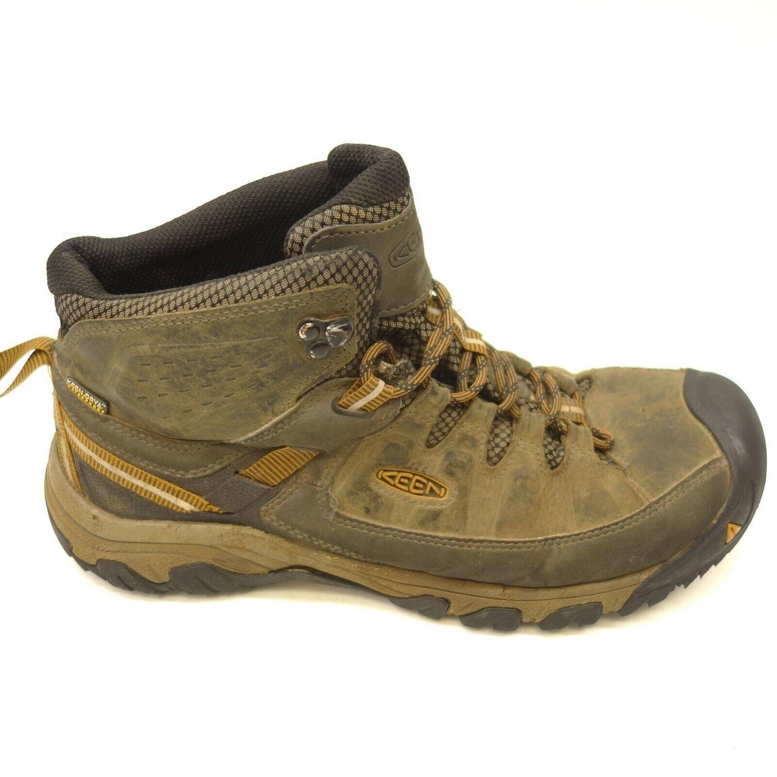 Keen Targhee Mid Impermeable Cuero III comodidad para senderismo y botas para hombre