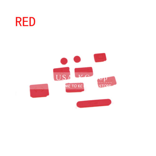 New 9 pcs Silicone Anti Dust Plug Cover Set for MacBook Pro Air 11 13 15 Laptop
