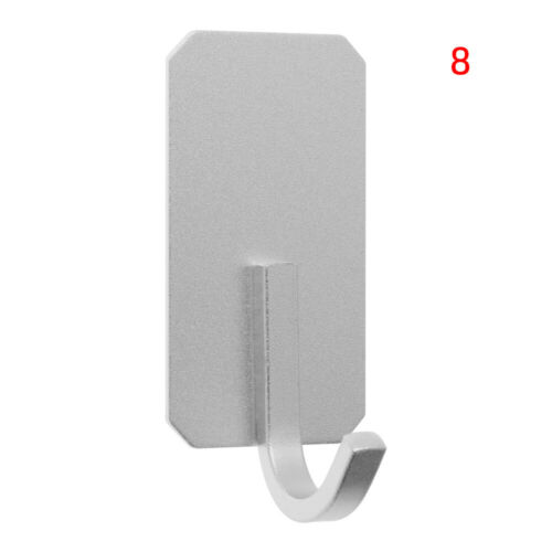 Bathroom Stainless Steel Hooks Coat Clothes Door Holder Rack Hook Wall Hanger