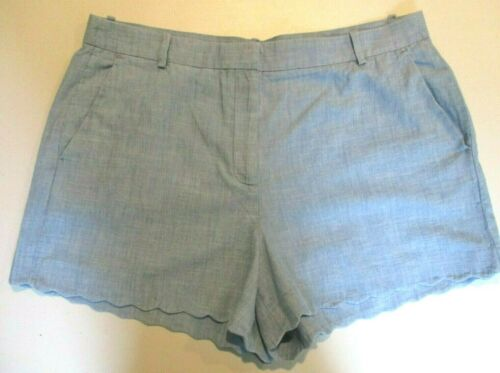 ***New With Tags*** J.Crew Light Blue Cotton Shorts Size:16 Tag:$69.50