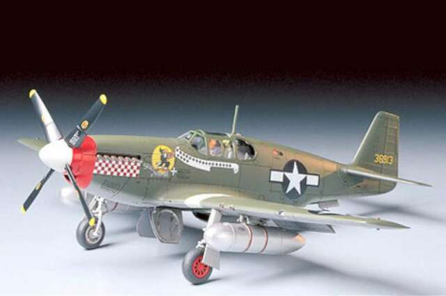 Tamiya 61042 P-51B Mustang 4950344610426