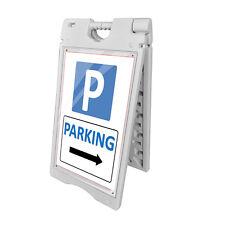 "Portable Double Side Sidewalk A Frame Busines Sign Menu Board Sandwich 24""x36"""