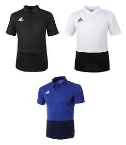 Adidas Condivo 18 Polo T-Shirt (BS0661) Running Training Tee Shirt ... daddf74ead9e4