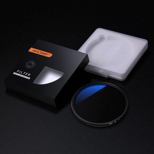 Multi Coated Filtro de densidad neutra variable K/&F 77mm ND2-ND400 Ultra Delgado