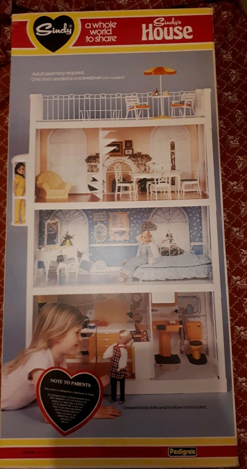 Three Storey Sindy Home With Spiral Staircase.