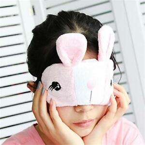 Rabbit-Shape-Eyeshade-Cover-Sleep-Mask-Natural-Sleeping-Eye-Care-Cute-LC