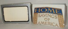 Defunct Home Savings and Loan Bank Deck of Playing Cards SEALED w/Box WORLDWIDE