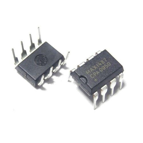 10PCS Low-Power DIP MAX1487 RS-485//RS-422 Transceivers IC DIP-8