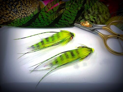 Spring Tiger Cubs 20mm  Tubes Great Spring Salmon Takers. Salmon Flies