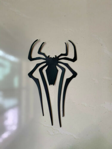 US Amazing Spider-man Cosplay Costume Accessory  Spider Logo Only Rubber 3D
