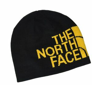 7cbfb368f77 Image is loading THE-NORTH-FACE-Reversible-TNF-Banner-Beanie-Black-
