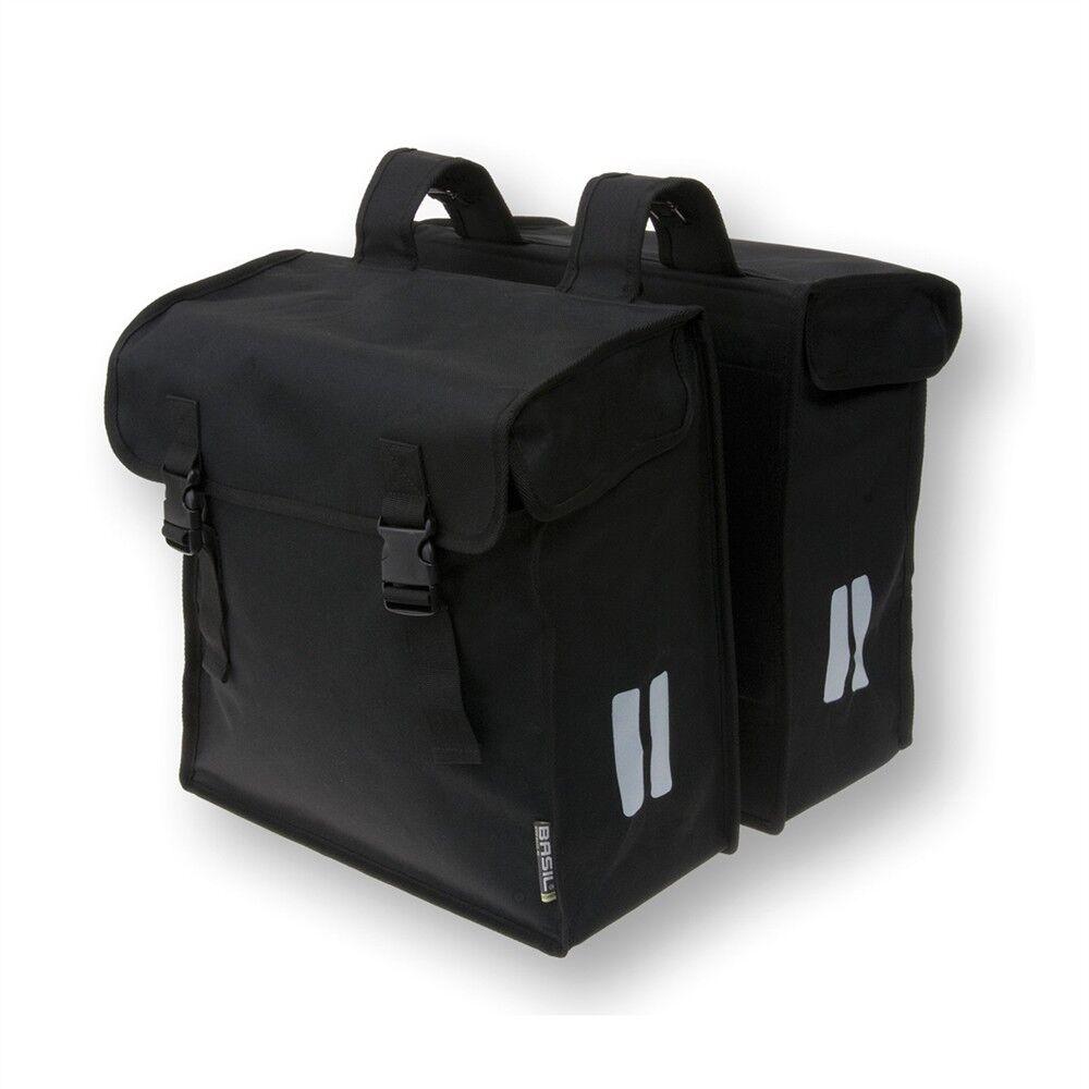 Basil Mara XXL Double Pannier Bag Water Resistant - 47 L - Bike Cycle