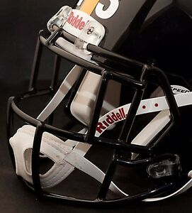 dc99e563d86 Image is loading TROY-POLAMALU-PITTSBURGH-STEELERS-Riddell-Speed-S2EG-SP-