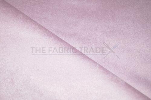 Bebé Rosa Imitación Gamuza Cortina De Tapicería de microfibra Interior del Coche Titular Tela
