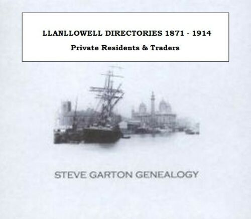 GENEALOGY DIRECTORY FOR TOWNS /& VILLAGES IN MONMOUTHSHIRE 1830-1931