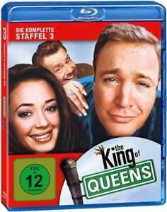 Blu-ray-THE-KING-OF-QUEENS-Season-3-KULT-NEU