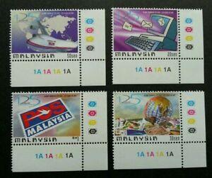 SJ-125-Years-Union-Postal-Universal-Malaysia-1999-UPU-stamp-plate-MNH